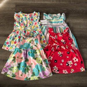 Carter's Baby Girl Floral Sleeveless Dress 6 month